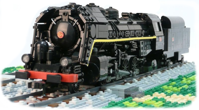 Mikado By Richard Lemeiter Using Big Ben Bricks Train Wheels